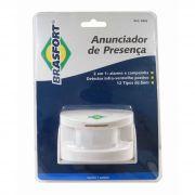 Sensor Anunciador De Presença Alarme E Campainha Sem Fio(E)