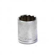 Soquete Avulso Estriado 1/2Pol x 26mm Waft