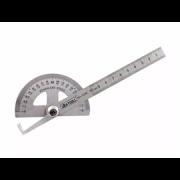 Transferidor De Ângulo Grau Com Régua 6 Pol Aço Inoxidável