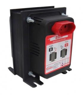 Transformador De Voltagem 500va 350w 110/220v E 220/110v Kitec