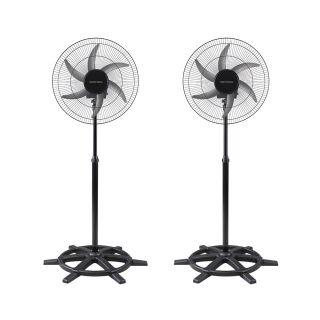 Ventilador De Coluna Oscilante Bivolt 50cm Steel Ventisol (2 Unidades)
