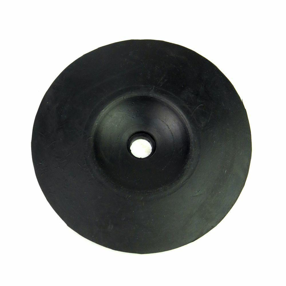Disco de Borracha 5 Pol Para Lixadeira e Politriz 2 Peças