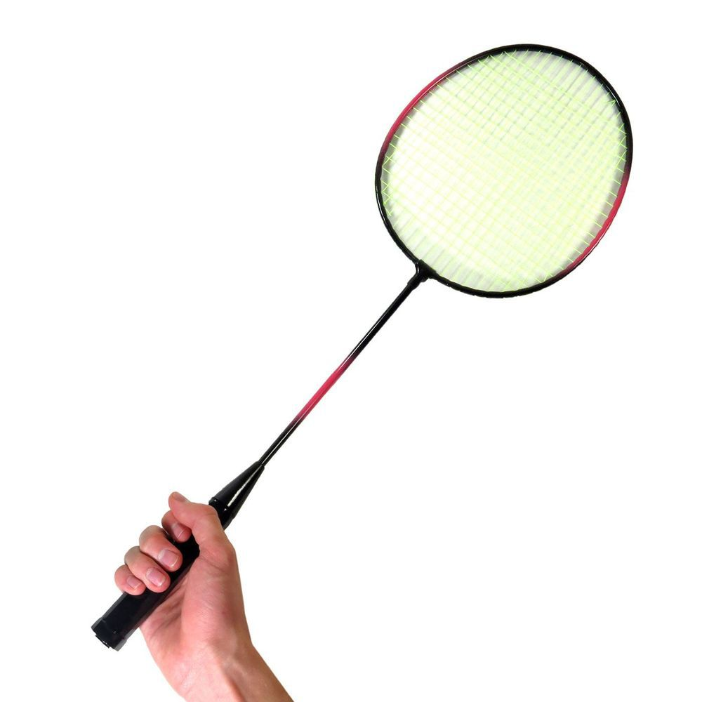 2 Raquetes De Badminton E 3 Petecas + Bolsa Raqueteira