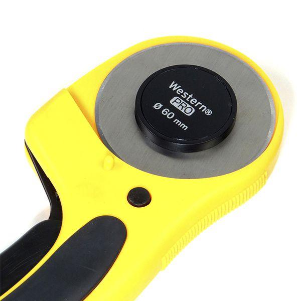 3 Cortador Circular Manual Profissional 60mm Papel, Vinil