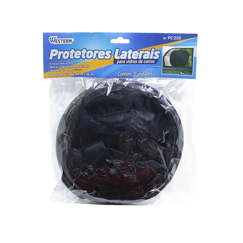 Protetor Lateral para Vidro de Carro Tapa Sol 4 Pares