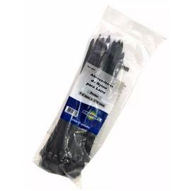Abraçadeiras Nylon Para Lacre Pretas 7,6mmx250mm 50 Un