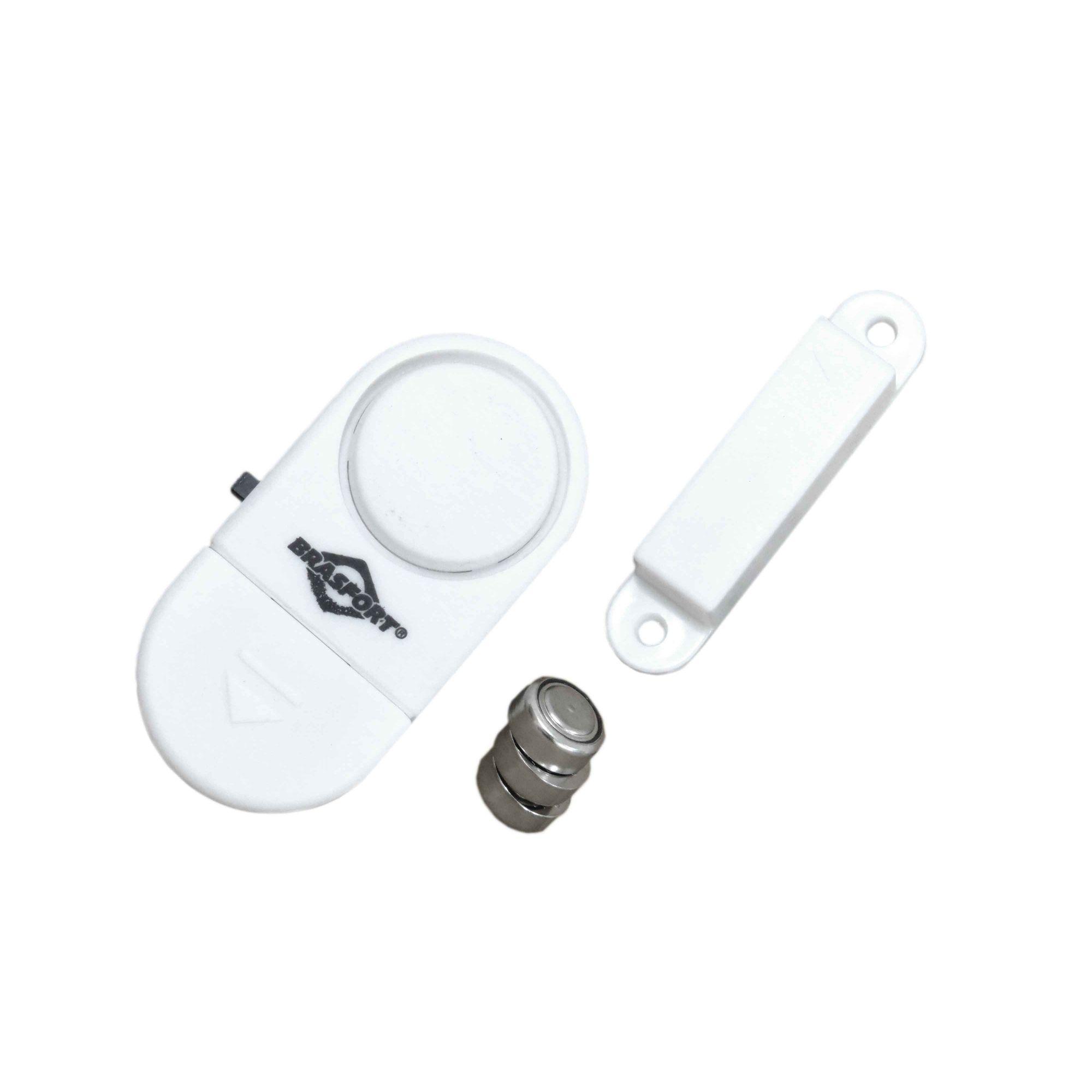 Sensor Magnético Alarme S/ Fio Para Janela E Porta Antifurto