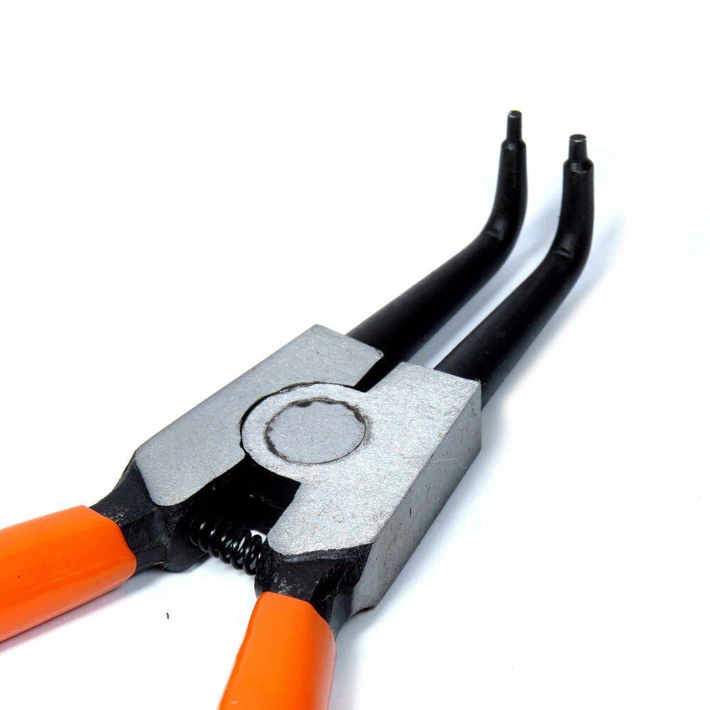 Alicate Anéis Externo Curvo 7 Pol 183mm Profissional Corneta