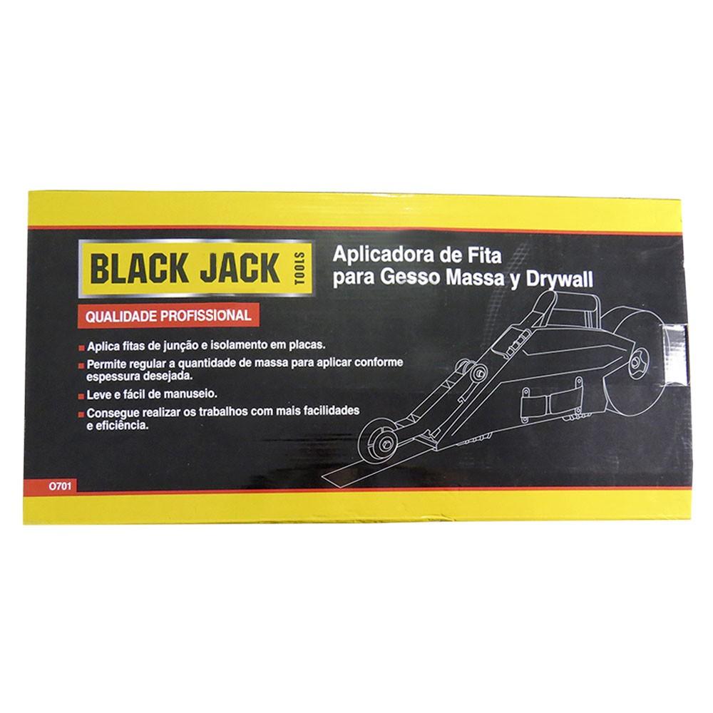 Aplicador de Fita Para Massa Gesso e Drywall Profissional Black Jack