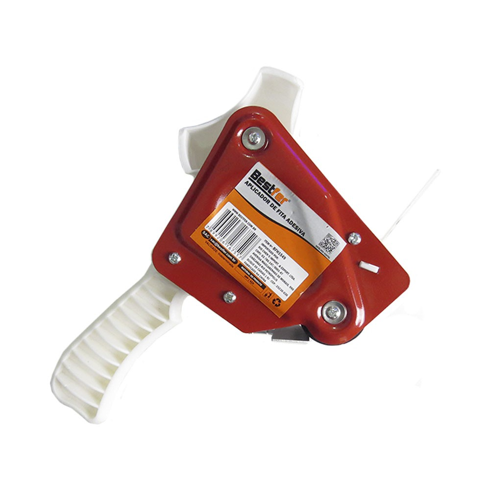 Aplicador para Fita Adesiva Suporte Durex 50mm 3 unidades