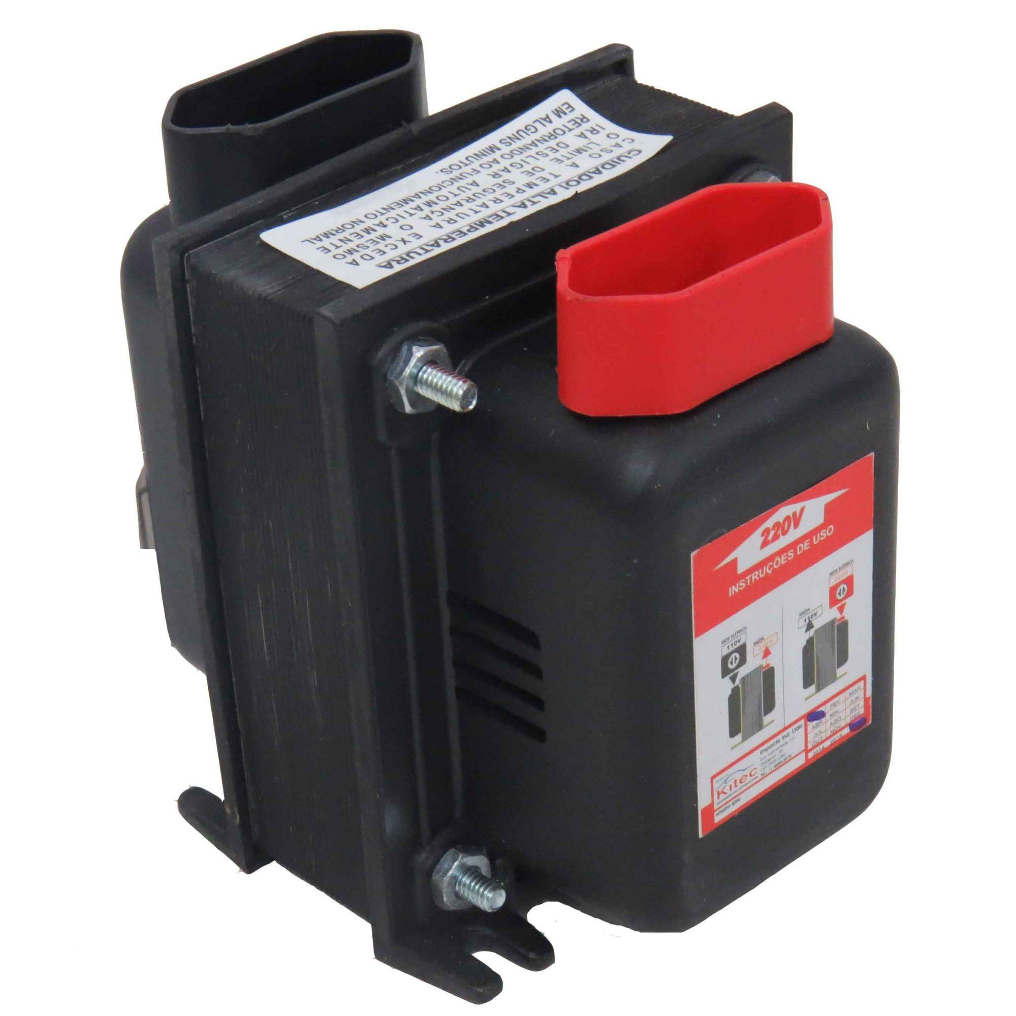 Autotransformador Conversor De Voltagem 200va 127/220v Cód.262274