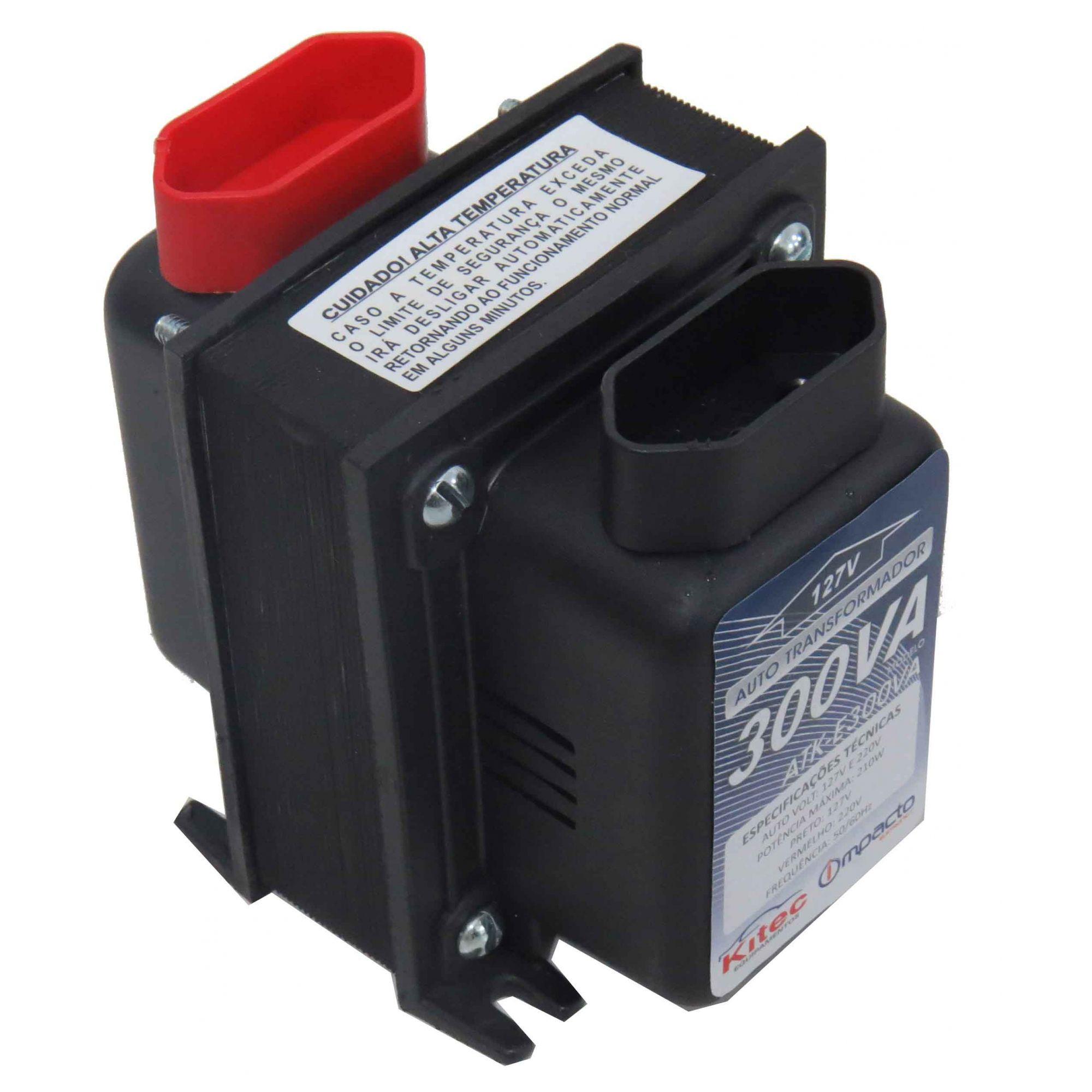 Autotransformador Transformador De Voltagem 300va 127/220v  Cód.262281