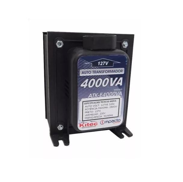 Autotransformador 4000va Conversor De Voltagem 127v 220