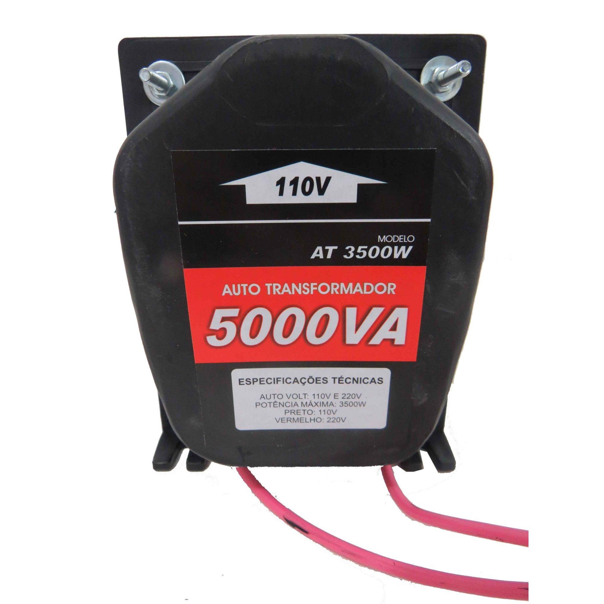 Autotransformador 5000va Kitec Conversor De Voltagem 127-220