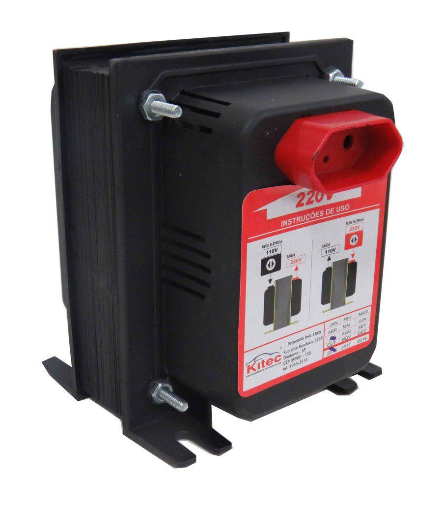Autotransformador De Voltagem 500va 220/127v  Cód.260461