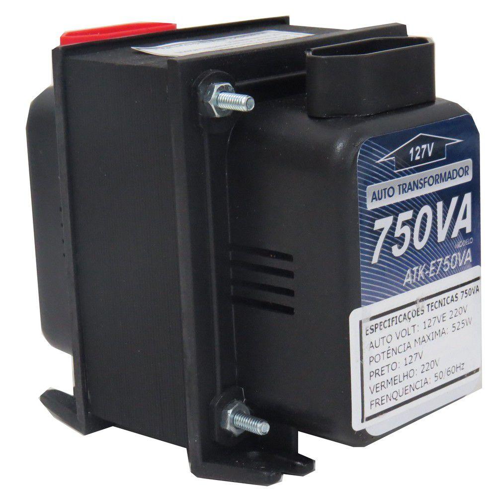 Autotransformador Transformador De Voltagem 750va 220/127v Cód.262304