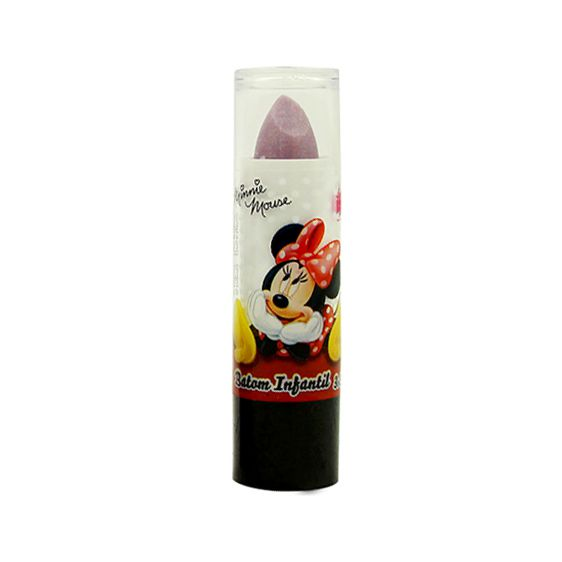 Batom Labial Make Up Maquiagem Minnie Infantil Beauty Brinq
