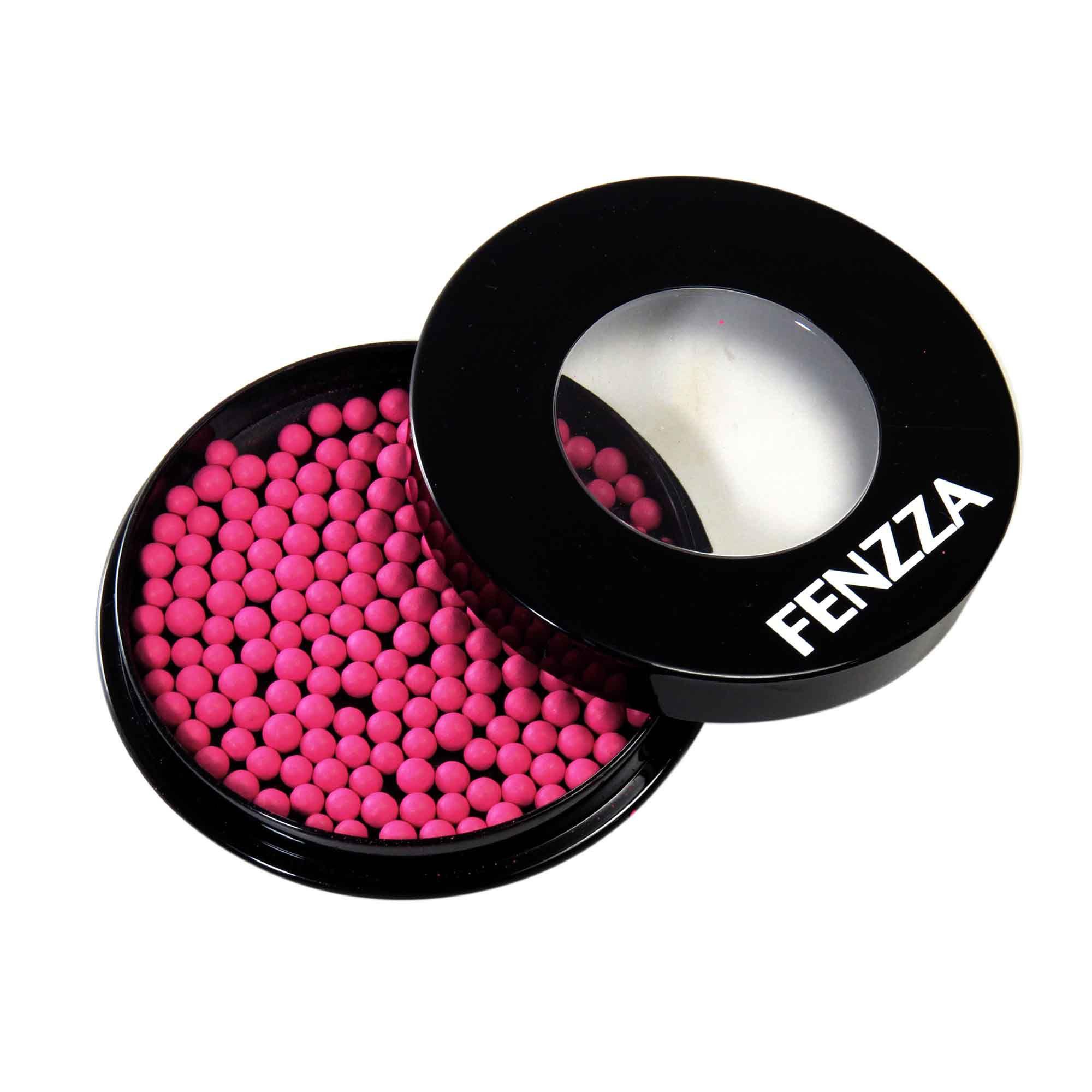 Blush Ball Em Pó Bolinhas Com Estojo Make Up Fenzza OUTLINE