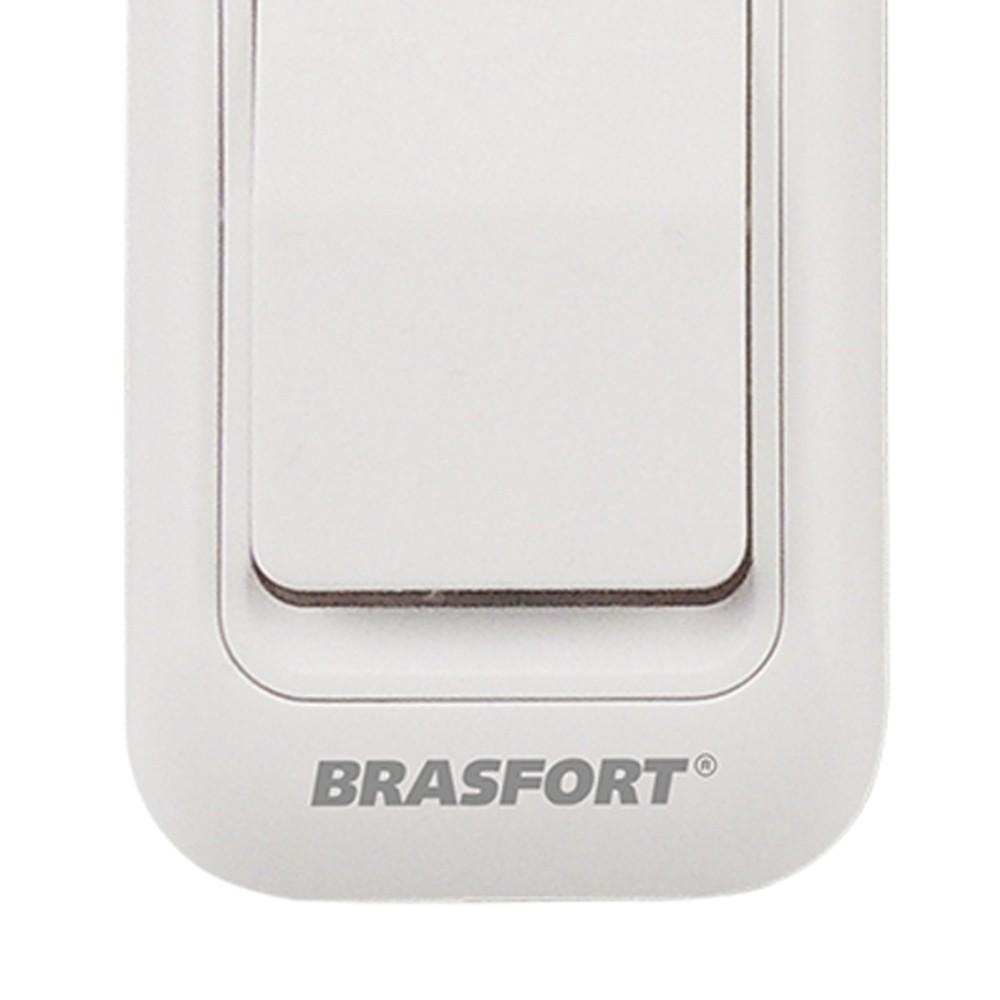 Botão Sem Fio Campainha A Pilha 12V Brasfort 5 Unidades