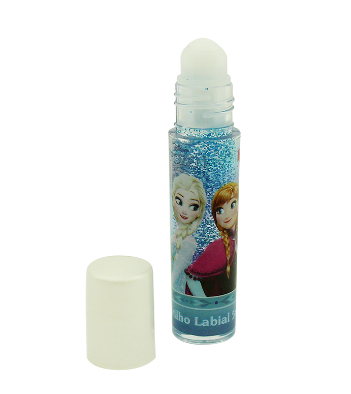 Brilho Labial Make Up Maquiagem Infantil Frozen Beauty Brinq - Gloss