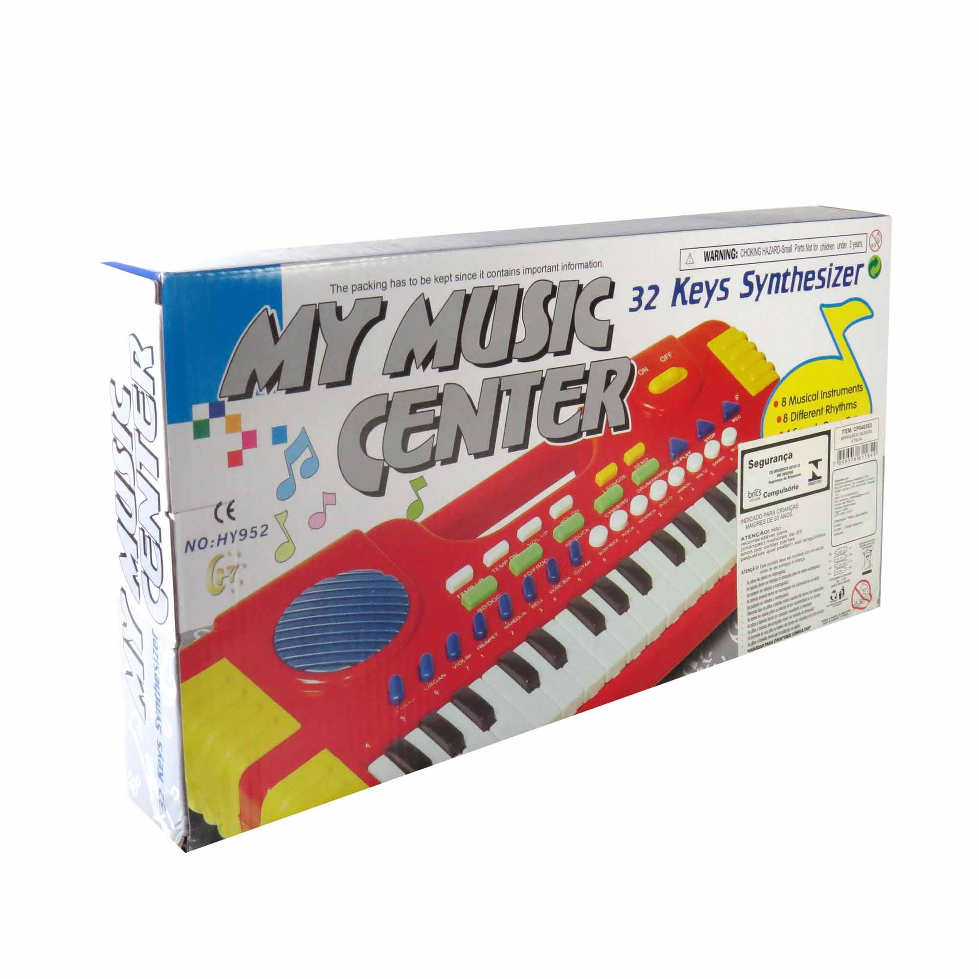 Mini Teclado Musical Para Crianças 32 Sons Diferentes
