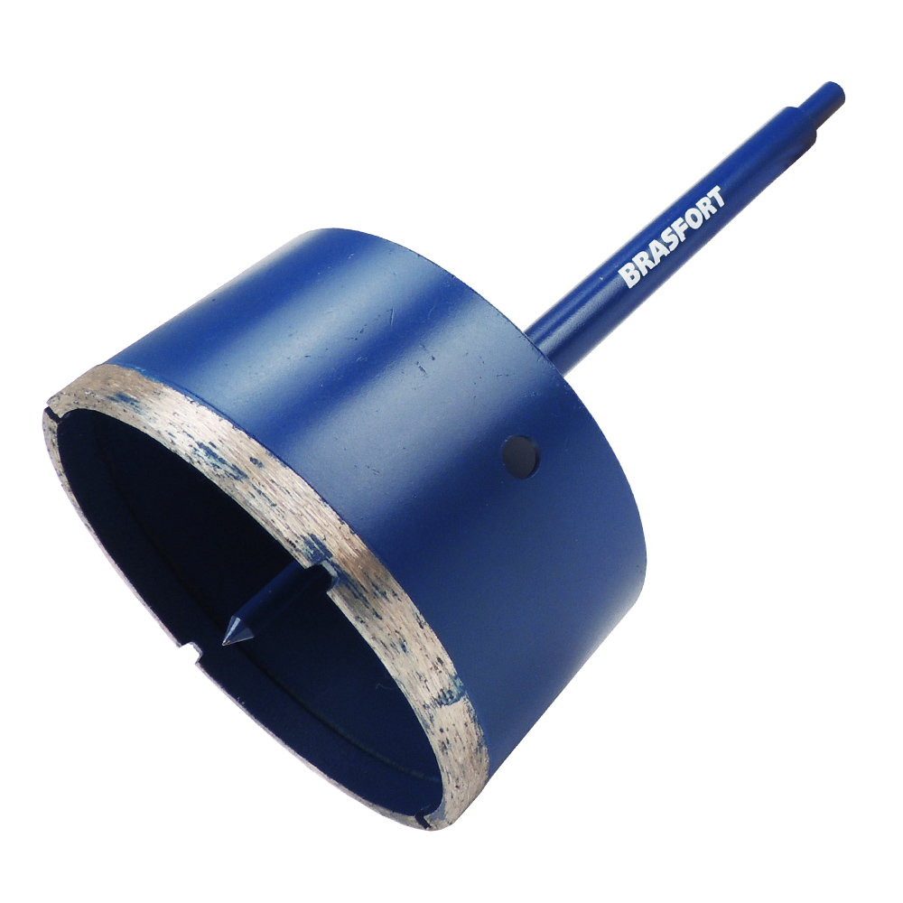 Broca Serra Copo 165mm p/ Azulejo Concreto Mármore Cerâmica