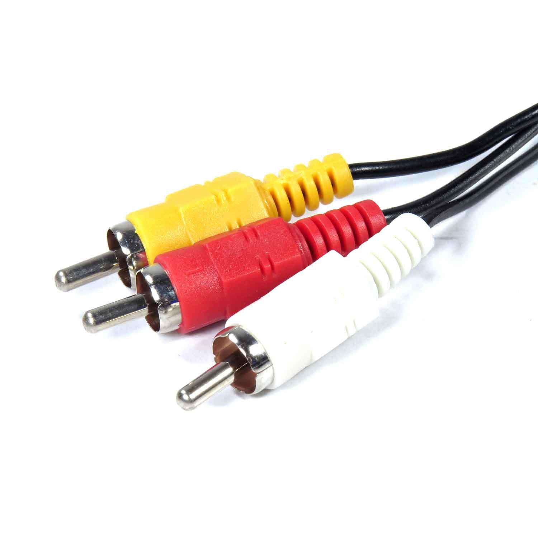 Cabo Av RCA Áudio E Vídeo Playstation 1 Ps2 Ps3 HS-PS2AV LHS