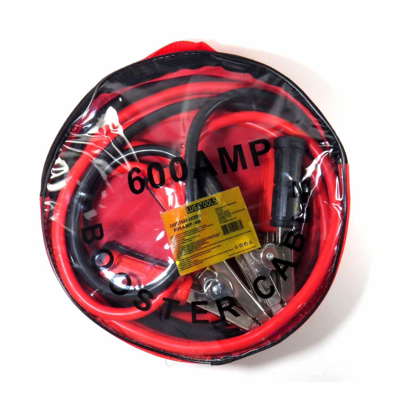 Cabo de bateria Chupeta 600AMP 4.0M Lugatools