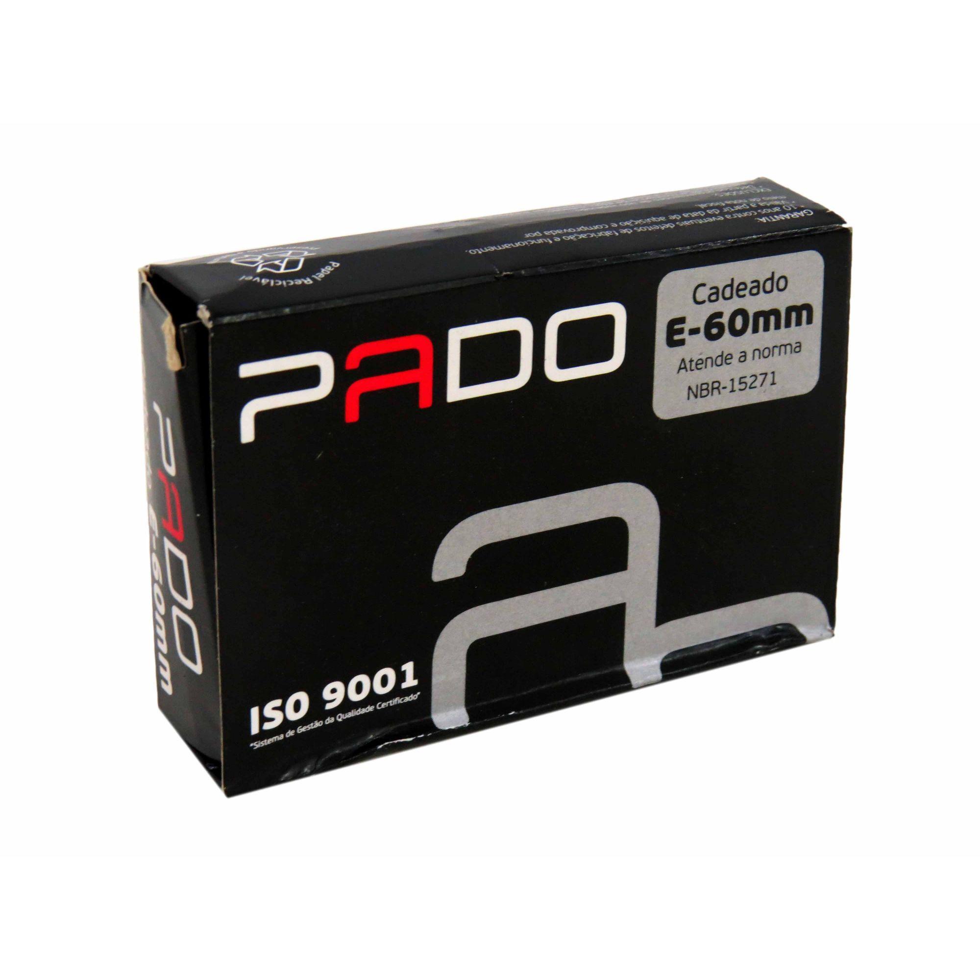 Cadeado de Latão Pado E-60mm Cód.7891065000202