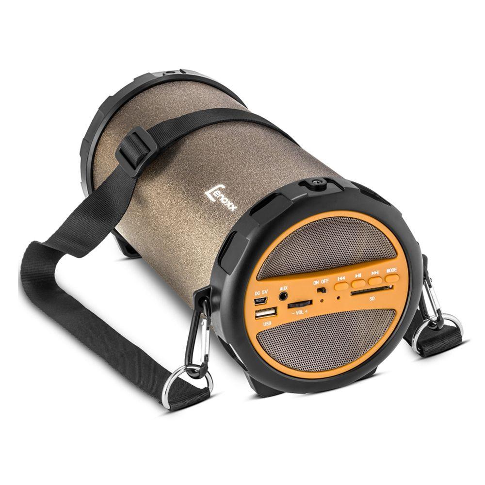 Caixa de Som Portátil Speaker Bluetooth Rádio Bivolt