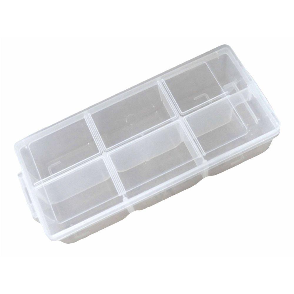 Caixa Organizadora Com Divisórias Fixas 19x8 7 Pol(E)