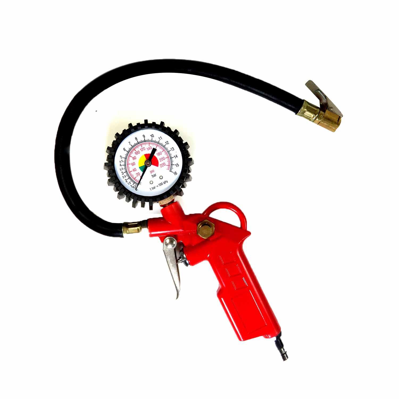Calibrador De Pneu Manômetro Carro Moto Bicicleta Lugatools