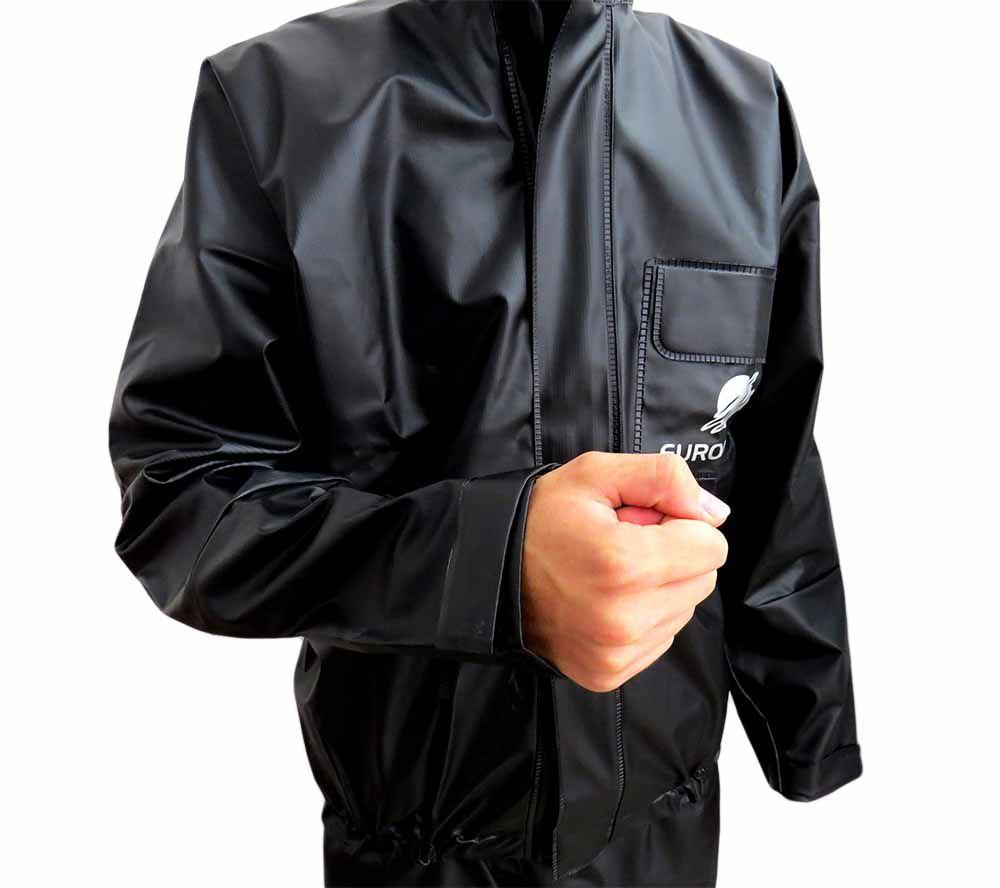 Capa De Chuva Para Motoqueiro Reforçada Com Forro Tam Gg