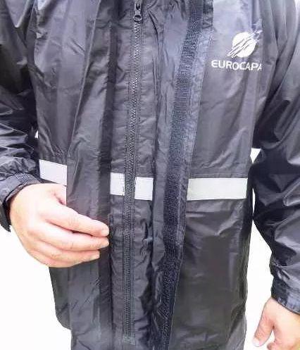 Capa De Chuva P/ Motoqueiro Tam P Poliester Impermeável Cód.0002286