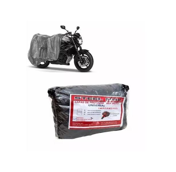 Capa Para Cobrir Moto Escapamento Impermeável Proteção M