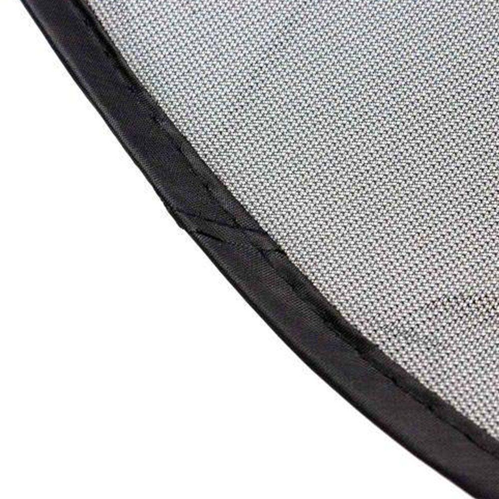 Capa para Volante 38cm + Protetor Lateral para Vidro 2 Peças