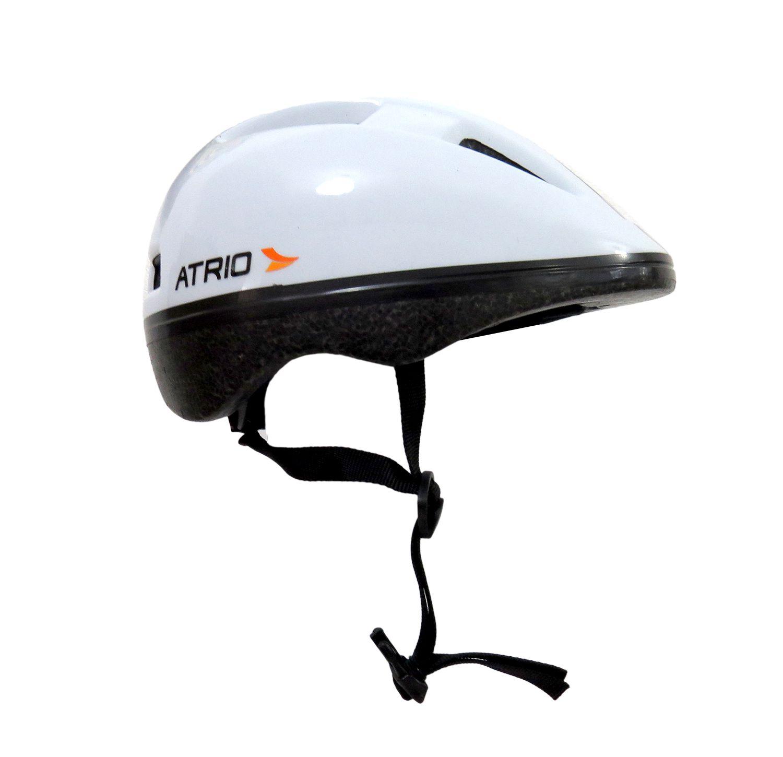 Capacete Urban Branco Ciclismo Bike Tam M 54-58cm Atrio