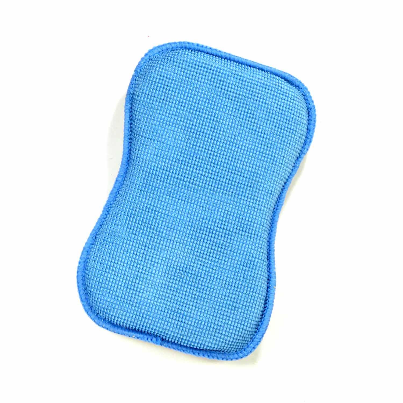 Esponja Microfibra 2 Em 1 Camurça Sintética Azul Western