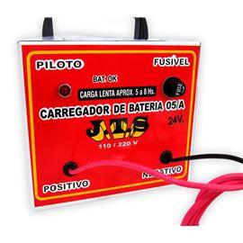 Carregador De Bateria Portátil Automotivo 5A 110 220v