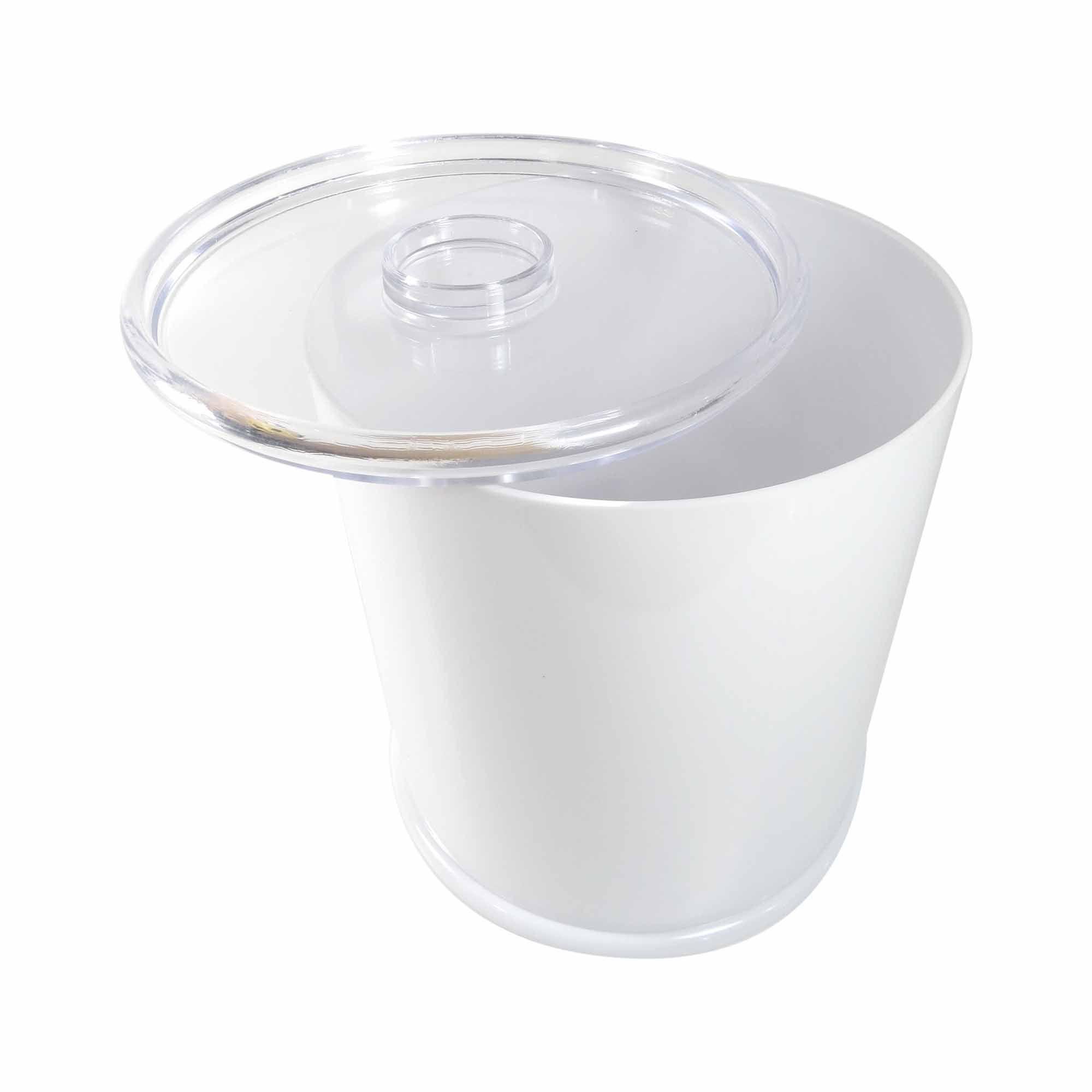 Cesto De Lixo Banheiro 5,25L Classic Branco Ricaelle