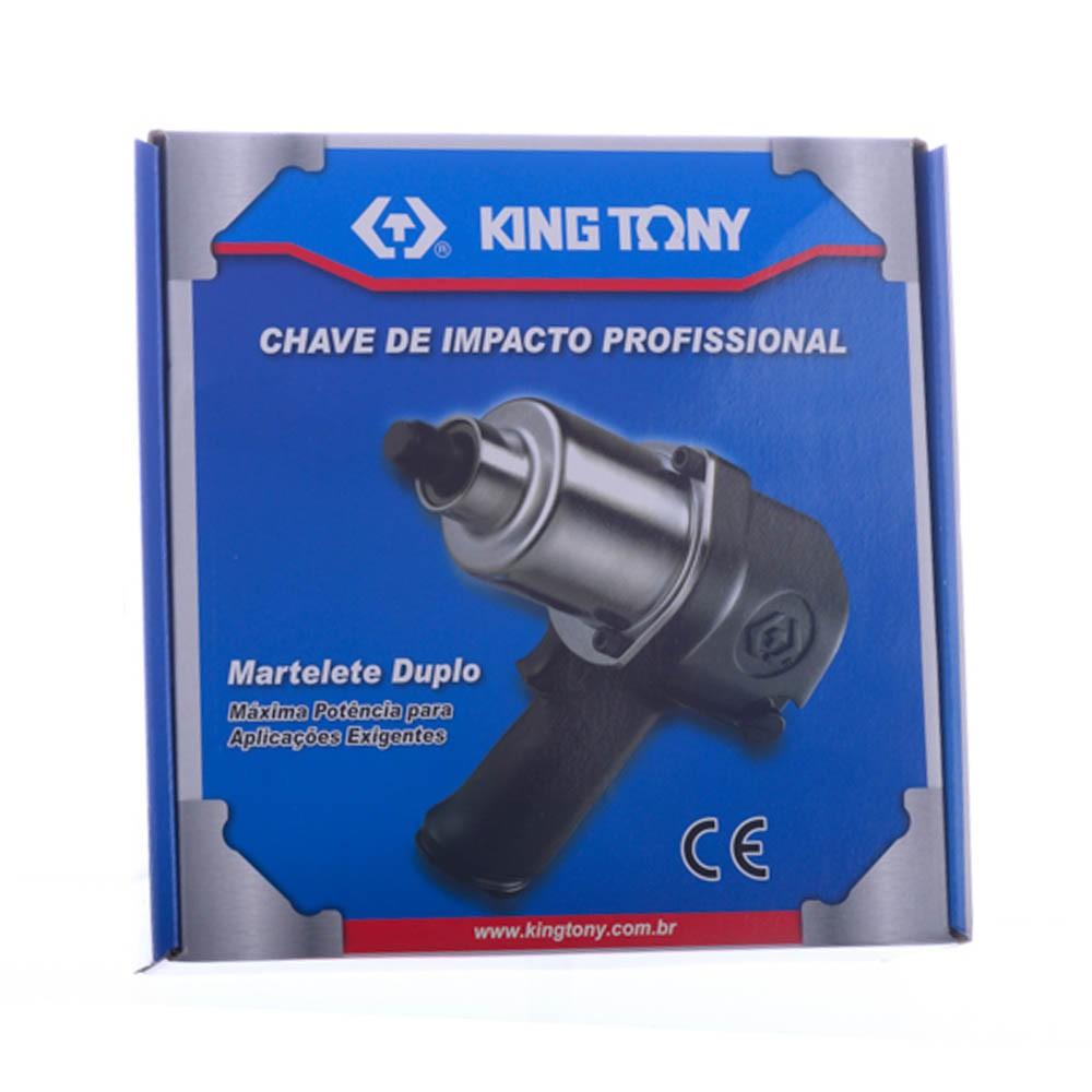 Chave de Impacto 1/2 Polegadas Pneumática 89,9Kgfm King Tony