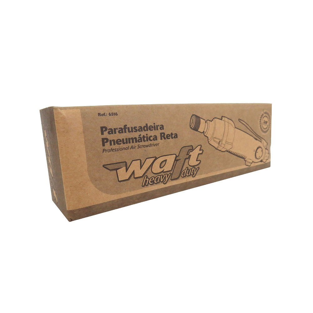 Chave Parafusadeira Pneumática + Jogo de Pontas e Bits