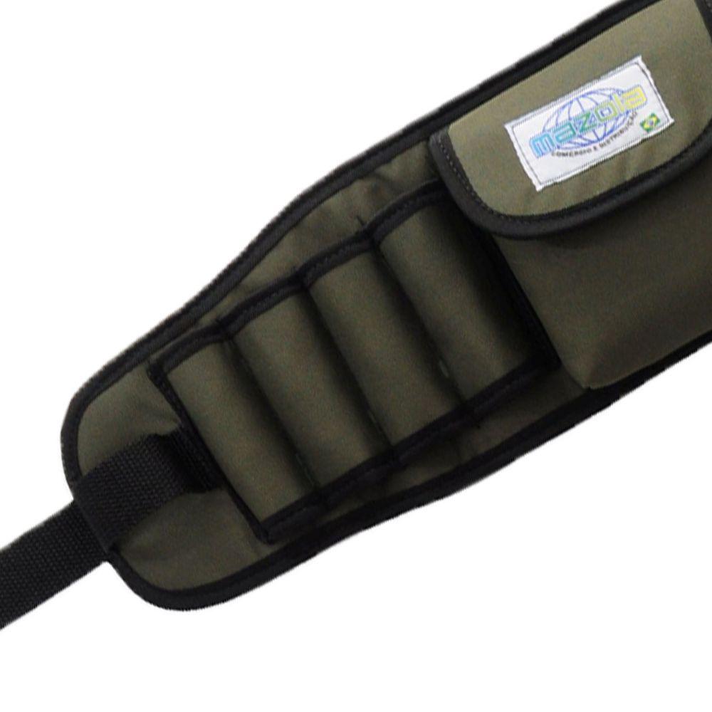 Cinto Carpinteiro Ajustável Cinturão Para Ferramentas 2 Bolsos Cód.434