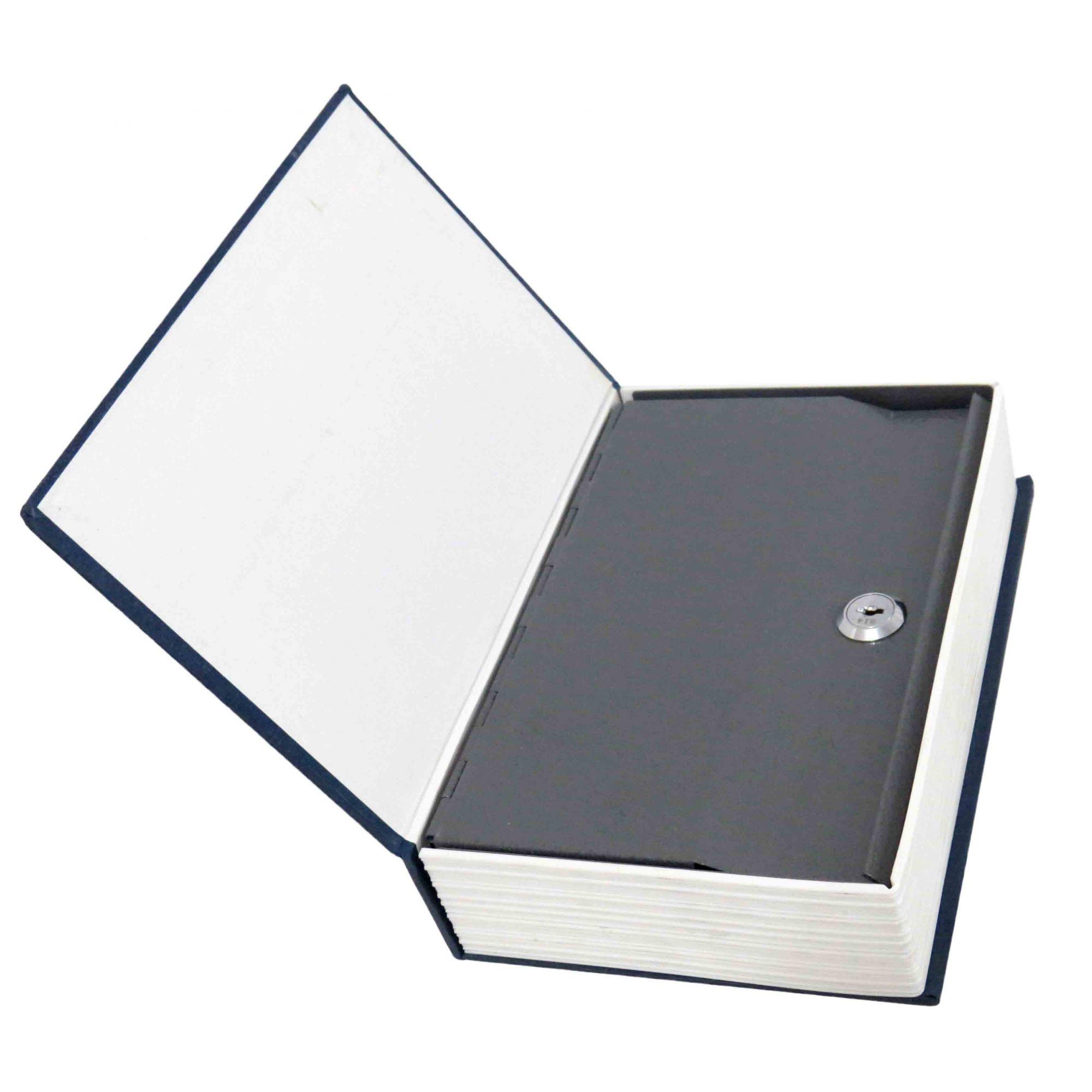 Cofre Camuflado Livro Dicionário Porta Jóias 2 Chaves