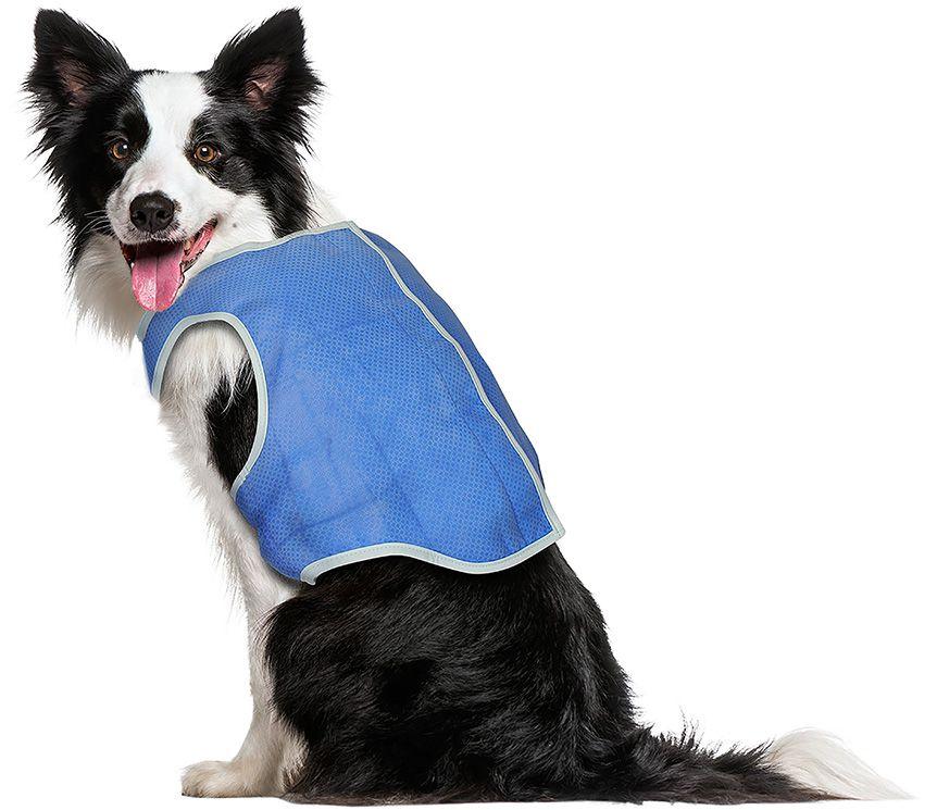 Colete Refrescante Gelado Para Cães Pets Tamanho G