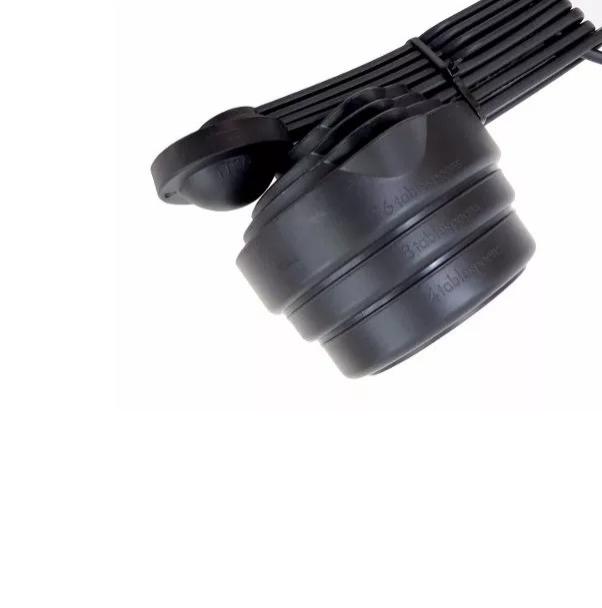 Colher De Medição Medidor Nylon 8 Peças Hercules