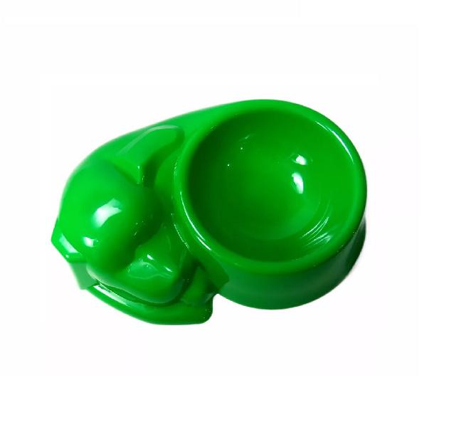 Bebedouro Comedouro 440ml Plástico Colorido Para Cães