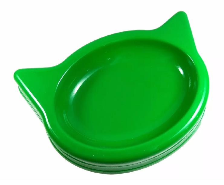 Comedouro Bebedouro Plástico Colorido Para Gatos 650ml