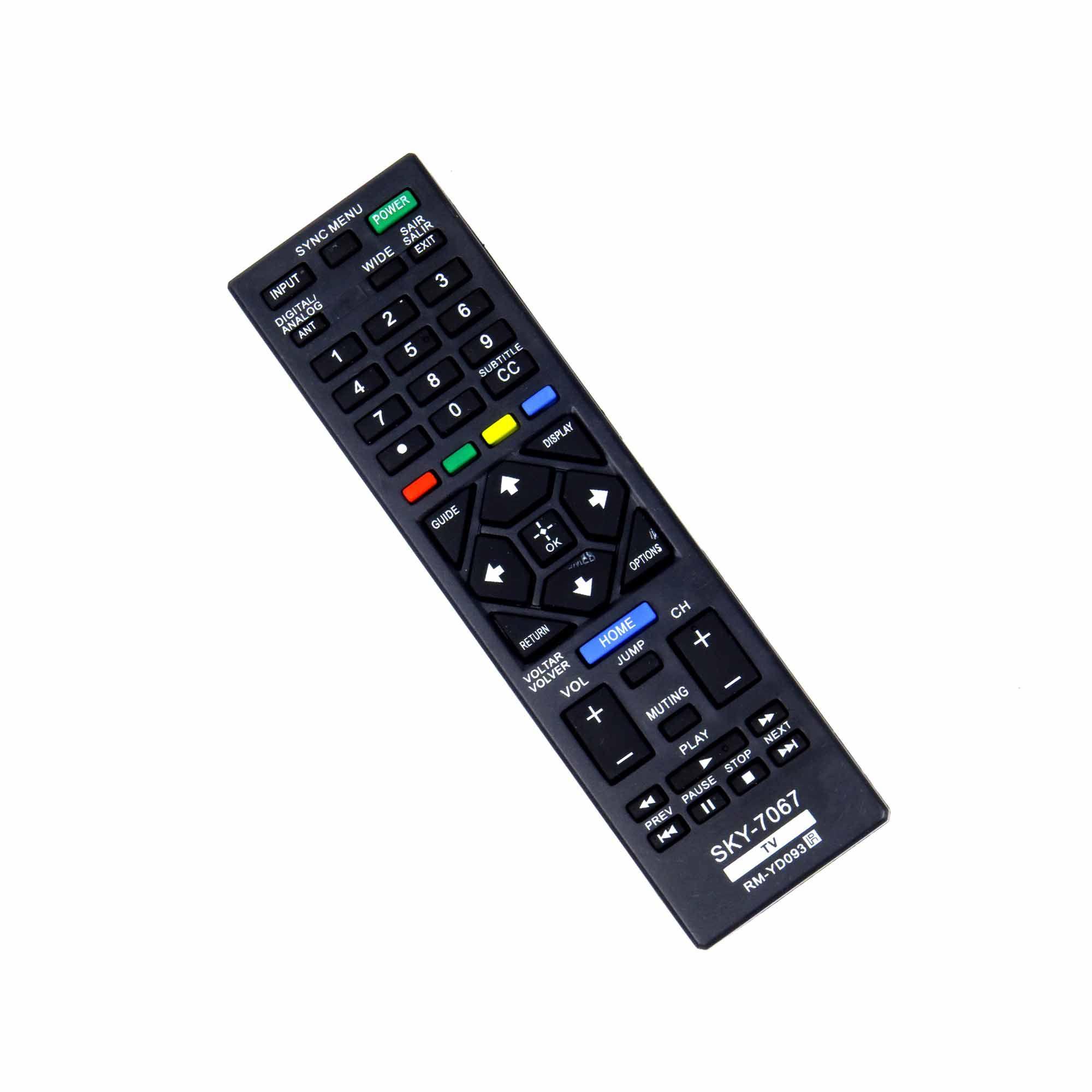 Controle Remoto para TV LED Sony Bravia Home