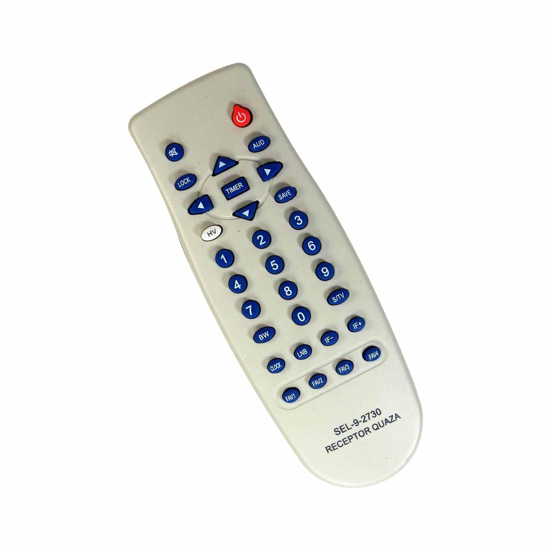 Controle Remoto Para Receptor Parabólica Cromus CR1500 Slim